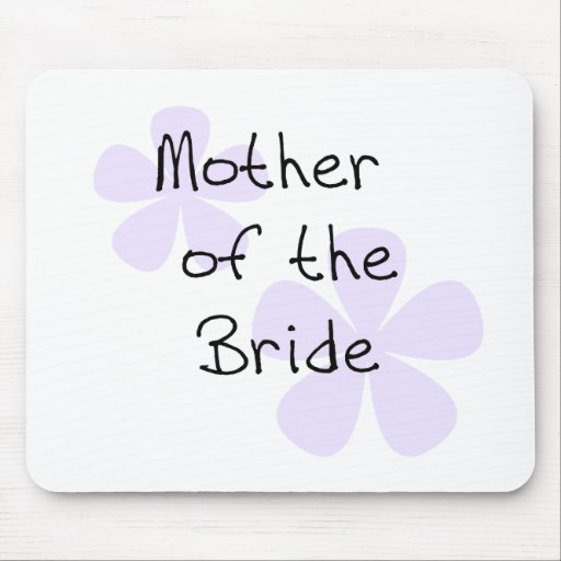 Lilac Flowers Mother of Bride Mouse Pad