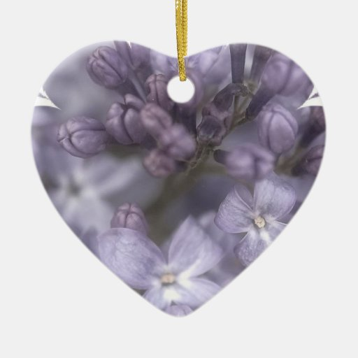 Lilac Flowers Ornament