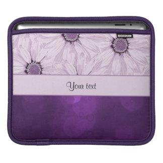 Lilac Flowers & Purple Bokeh Sleeve For iPads