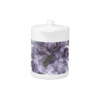 Lilac Flowers Teapot