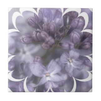 Lilac Flowers Tile
