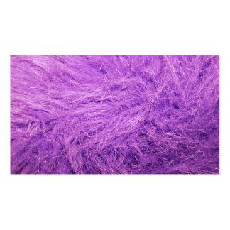 Lilac Fur Business Card Templates