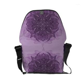 Lilac Fury Fleury Small Messenger Bag