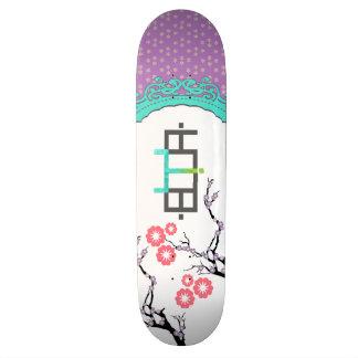 Lilac Girly Booya Skateboard Deck Skate Board