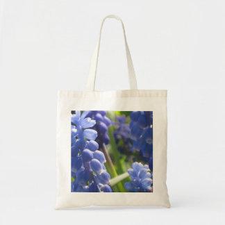 Lilac Grape Hyacinth Photo Image - Budget Tote Bag