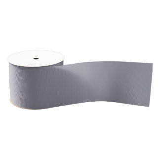 Lilac Gray Light Grey Color Shade Solid Color Back Blank Ribbon