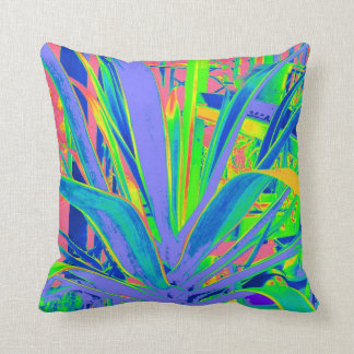 Lilac & Green Agave Pillow by Sharles