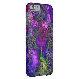 Lilac & Green Plaid iPhone 6 case