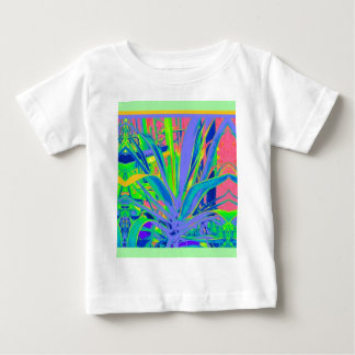 Lilac ,Green,Yellow Agave gifts by Sharles Baby T-Shirt