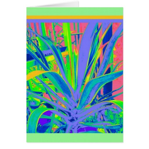 Lilac ,Green,Yellow Agave gifts by Sharles Card