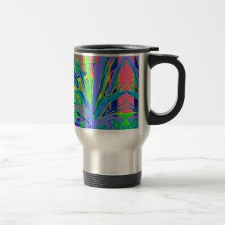 Lilac ,Green,Yellow Agave gifts by Sharles Travel Mug