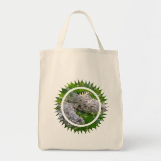 Lilac Grocery Tote Bag