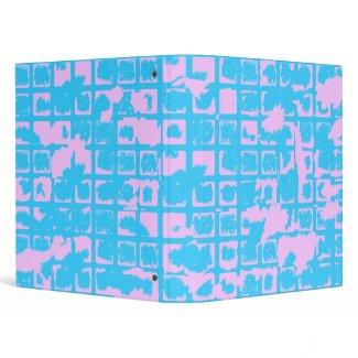 Lilac Grunge binder