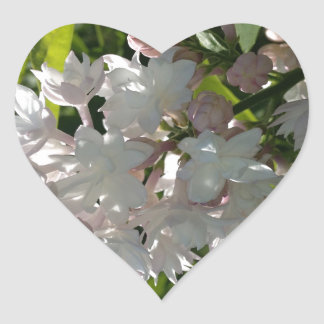 Lilac Heart Sticker
