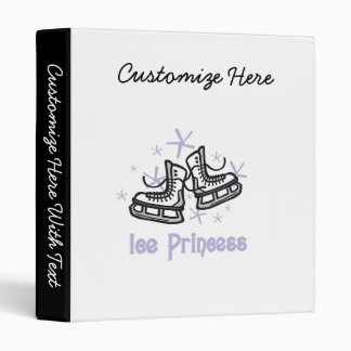 Lilac Ice Princess T shirts and Gifts Binder