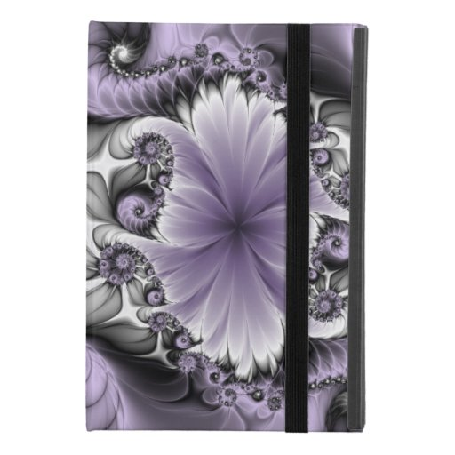 Lilac Illusion Abstract Floral Fractal Art Fantasy iPad Mini 4 Case
