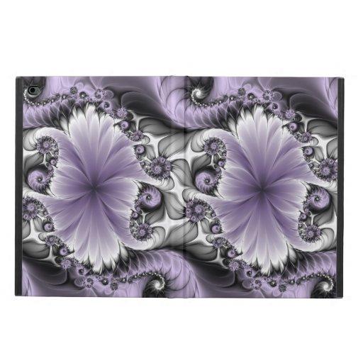 Lilac Illusion Abstract Floral Fractal Art Fantasy Powis iPad Air 2 Case