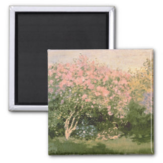 Lilac in the Sun, 1873 2 Inch Square Magnet