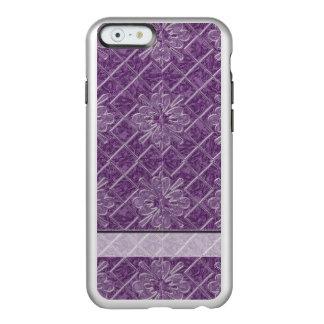 Lilac Jacquard Pattern Incipio Feather® Shine iPhone 6 Case