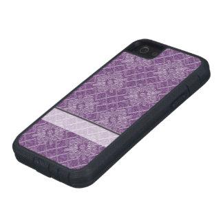 Lilac Jacquard Pattern iPhone SE/5/5s Case