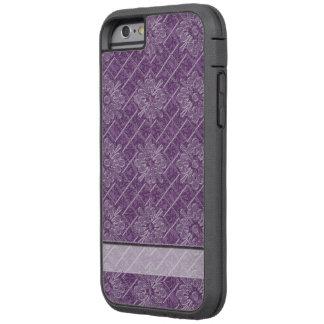 Lilac Jacquard Pattern Tough Xtreme iPhone 6 Case