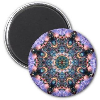 Lilac Jewels 9 Magnet