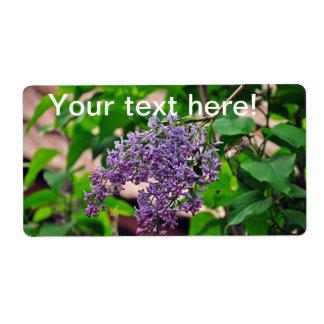 Lilac Label