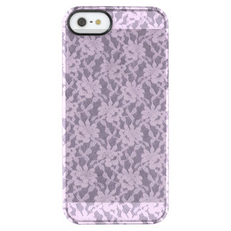 Lilac Lace iPhone 5/5s Clearly™ Deflector Case