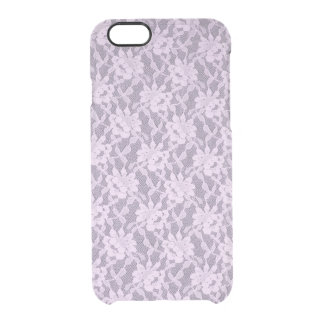 Lilac Lace iPhone 6 Clearly™ Deflector Case