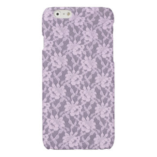 Lilac Lace iPhone 6 Glossy Finish Case
