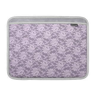 Lilac Lace MacBook Air Sleeve