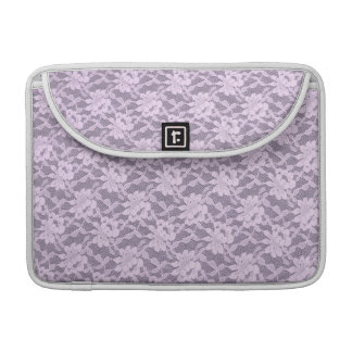 Lilac Lace MacBook Pro Sleeve