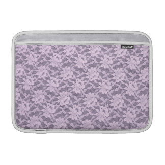 Lilac Lace MacBook Sleeve