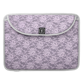Lilac Lace Sleeve For MacBook Pro