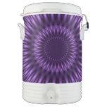 Lilac Lagoon Igloo Beverage Cooler