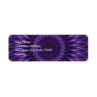 Lilac Lagoon Label