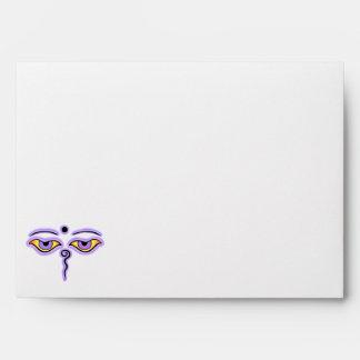 Lilac Lavender Buddha Eyes.png Envelope