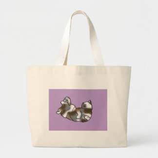 Lilac Lounger Tote Bag