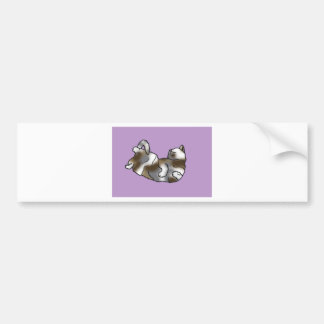 Lilac Lounger Bumper Sticker
