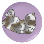 Lilac Lounger Plate