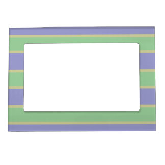 Lilac / Mint Stripes picture frame