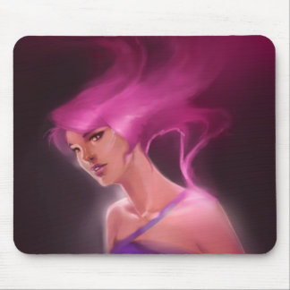 lilac mouse pad