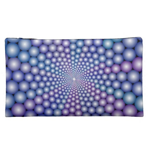 Lilac Orbs Cosmetic Bags