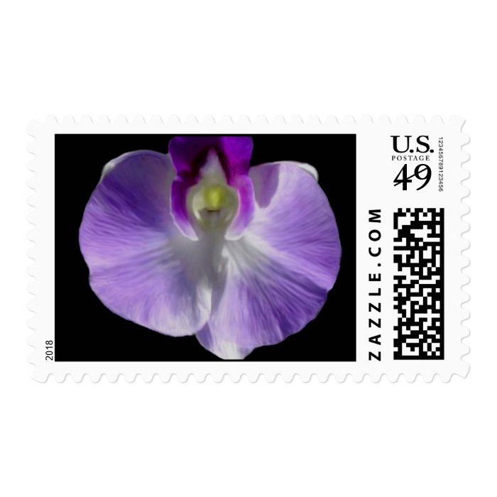 Lilac Orchid Postage