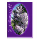 Lilac Oval Beauty-customize any occasion Card