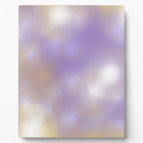 lilac pattern plaque