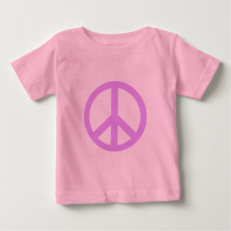 Lilac Peace Sign Products Baby T-Shirt