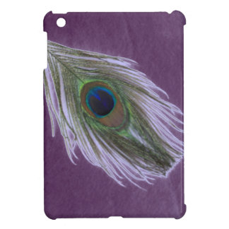 Lilac Peacock Feather D Cover For The iPad Mini