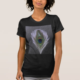 Lilac Peacock Feather D Shirt