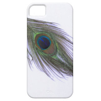 Lilac Peacock Feather iPhone SE/5/5s Case